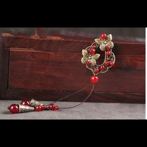 Jewelry - Long Ethnic Butterfly Necklace